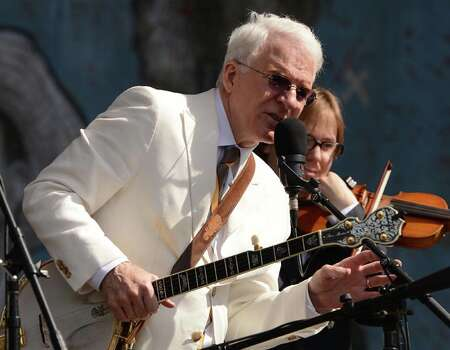 Legendary comic actor (and one heck of a banjo player) Steve Martin was born in Waco but raised in Inglewood, Calif. Photo: C Flanigan, FilmMagic / 2013 C Flanigan