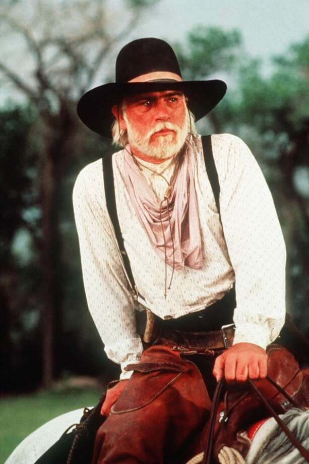 "... as another grizzled old man (what is it with this guy?!?!) in ""Lonesome Dove."" Photo: AP"