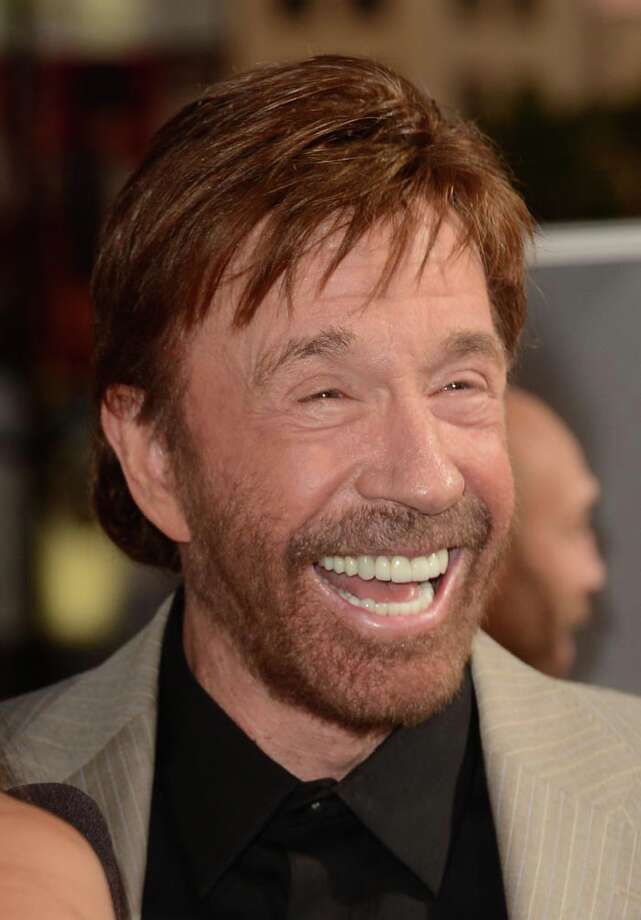 Chuck Norris is a punchline waiting to happen these days, but we'll still always remember him ... Photo: Jason Merritt, Getty Images / 2012 Getty Images