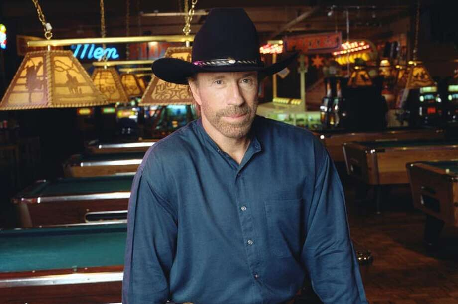 "He's best known as ""Walker, Texas Ranger,"" but he was born in Ryan, (*gasp*) Okla. Photo: CBS Photo Archive, Getty Images / Copyright ©1998 CBS Broadcasting Inc. All Rights Reserved. Credit: CBS Photo Archive."