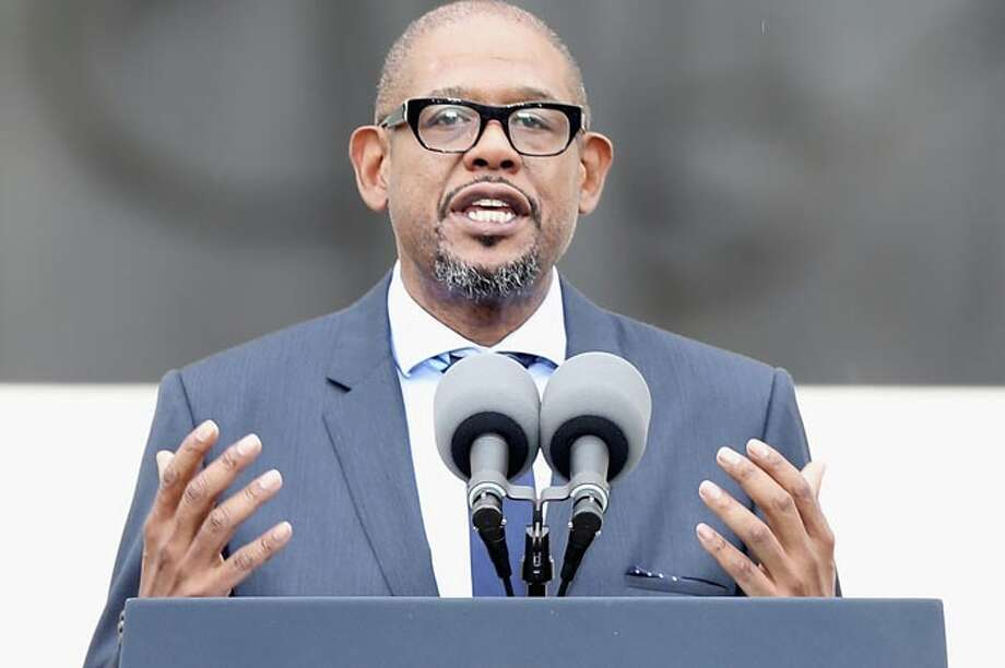 Forest Whitaker has starred in more than 100 film and TV roles in his acting career ... Photo: Alex Wong, Getty Images / 2013 Getty Images