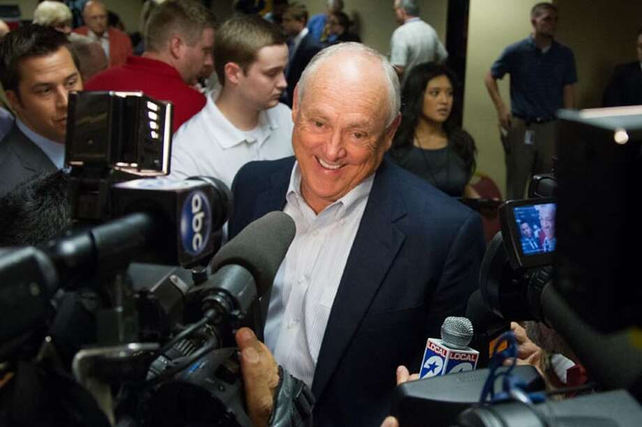 Nolan Ryan helped turn perennial losers the Texas Rangers around over the past decade ... Photo: Bob Levey, Getty Images / 2013 Bob Levey