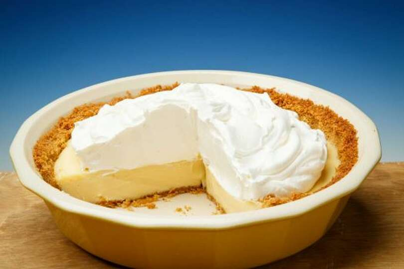 Lemon Icebox Pie This lemon-y pie adds a tart finish to any... Photo ...