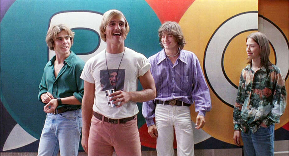 """Matthew McConaughey as Wooderson in """"Dazed and Confused."""""""