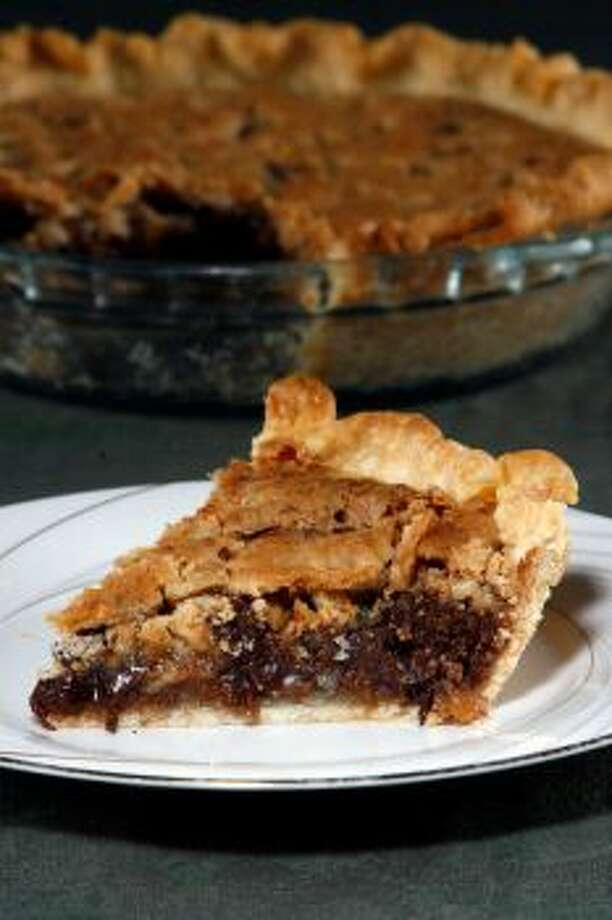 Luby's Butternut Brownie PieThe Butternut-Brownie pie uses graham crackers and egg whites to create this beautiful unusual pieRead the recipe Photo: Johnny Hanson / Chronicle