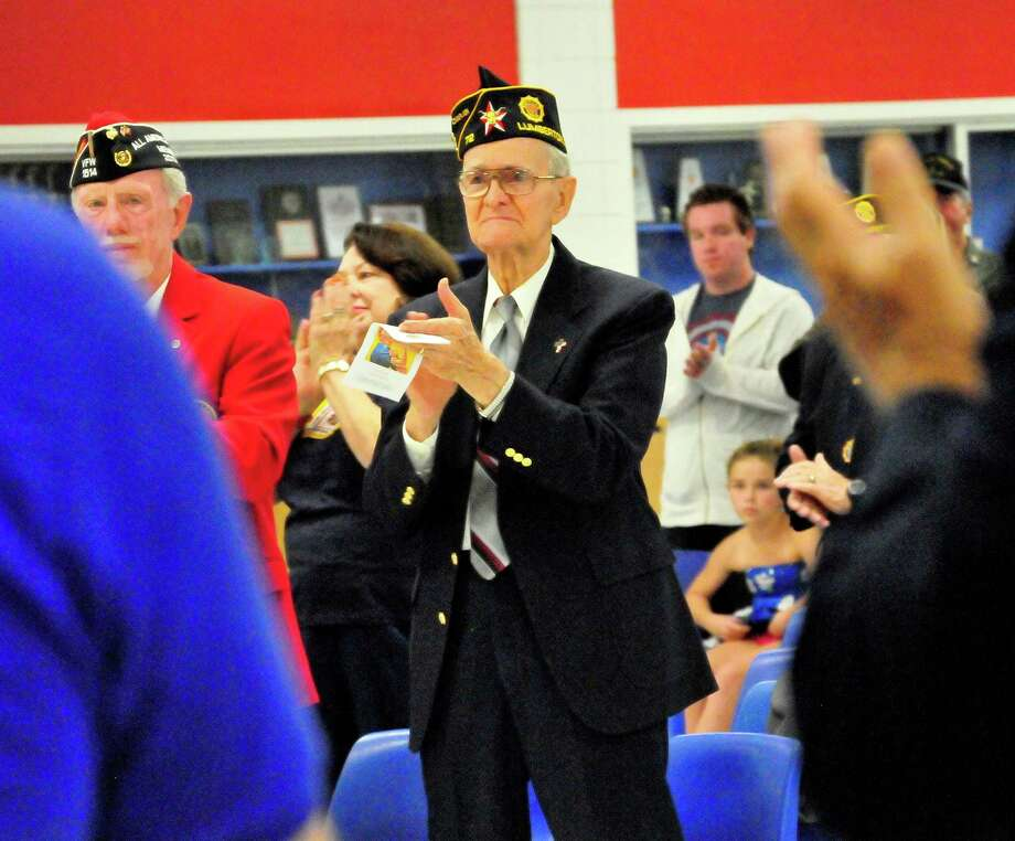 American Legion Post 72 & Auxiliary Unit 72 in Lumberton hosted a Veterans Day program. Photo: Cassie Smith/@smithcassie