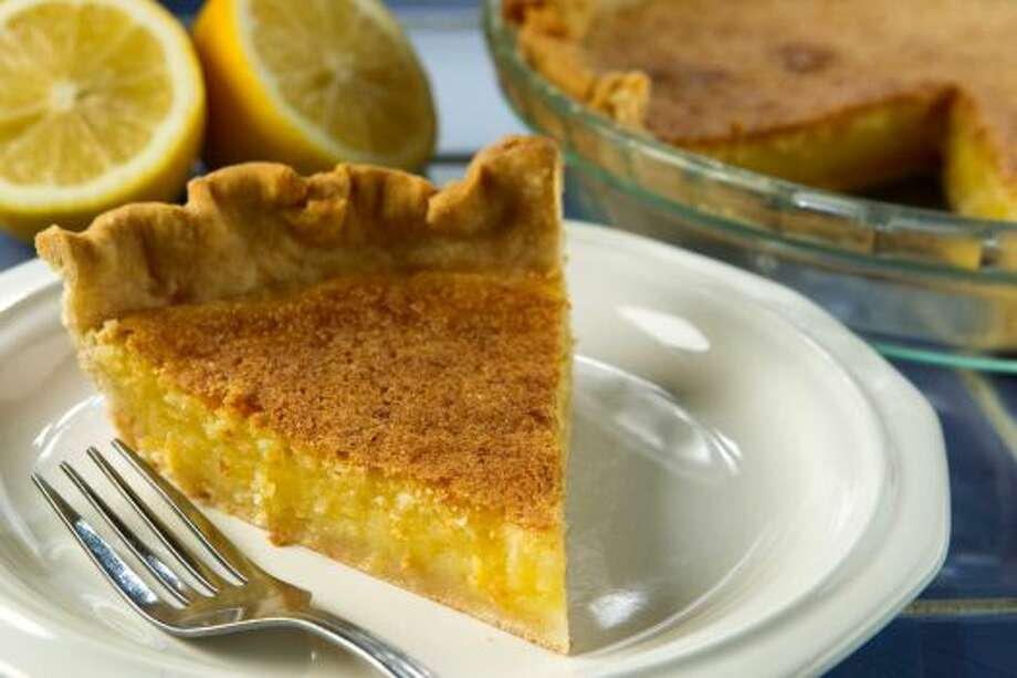 Lemon Chess PieThe Chess Pie with a bit of tang added.Read the recipe Photo: Brett Coomer / Houston Chronicle
