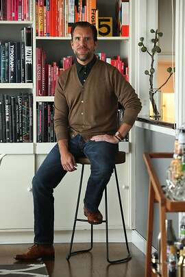 Scott Dadich, the new editor at Wired Magazine, shows favorite objects around his apartment in San Francisco, California on Tuesday, August 27, 2013.