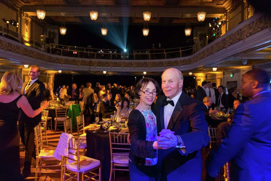 Merle Zellerbach and Lee Munson dance during the 5th Annual Samasource Give Work Gala at The Regency Ballroom in S.F. on November 1, 2013. Photo: Drew Altizer, Drew Altizer Photography / © Drew Altizer