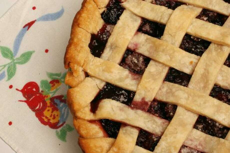 Cherry PieTart cherries, sugar, flaky pastry, nothing better.Read the recipe Photo: Chronicle File Photo