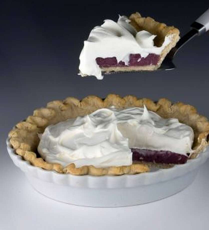Grape PieReally quite delicious this unusual fruit pie actually uses grape juice, not the fruit.Read the recipe Photo: Johnny Hanson / Chronicle )