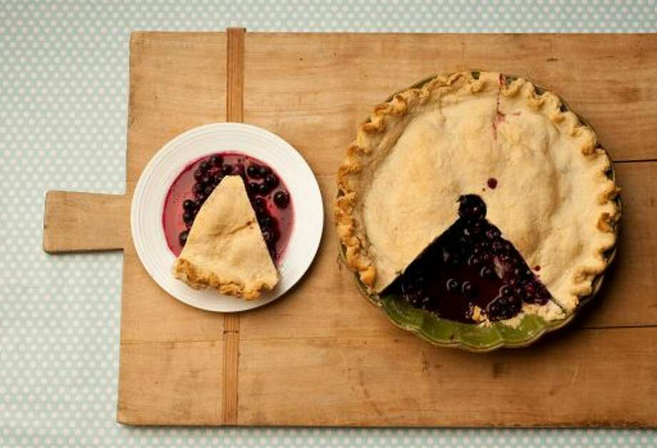 Blueberry PieA southern favorite, dark purply berries and crust.Read the recipe Photo: Chronicle File Photo