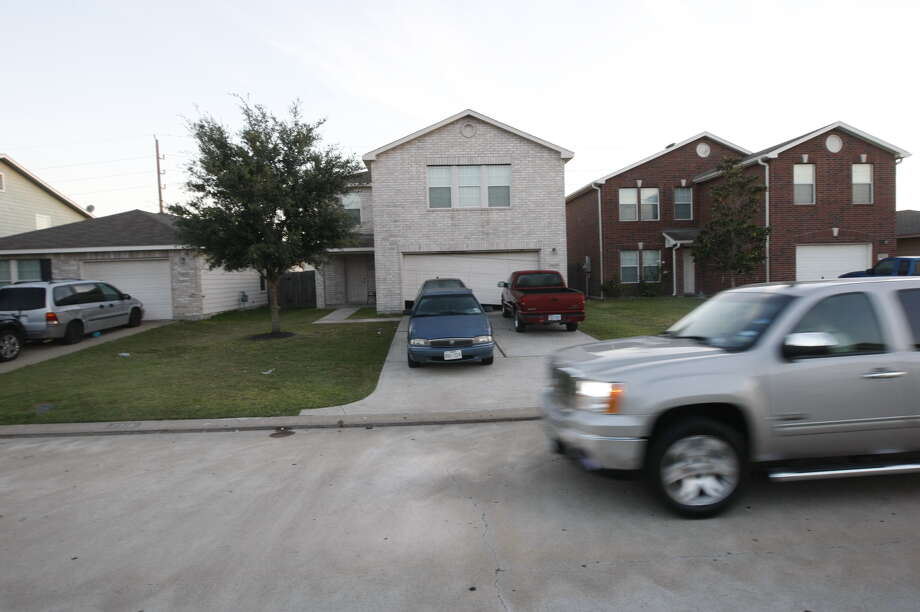 Pictured is the house where two Katy ISD students were killed Saturday, Nov. 9, 2013, during a party. Photo: Johnny Hanson, Houston Chronicle