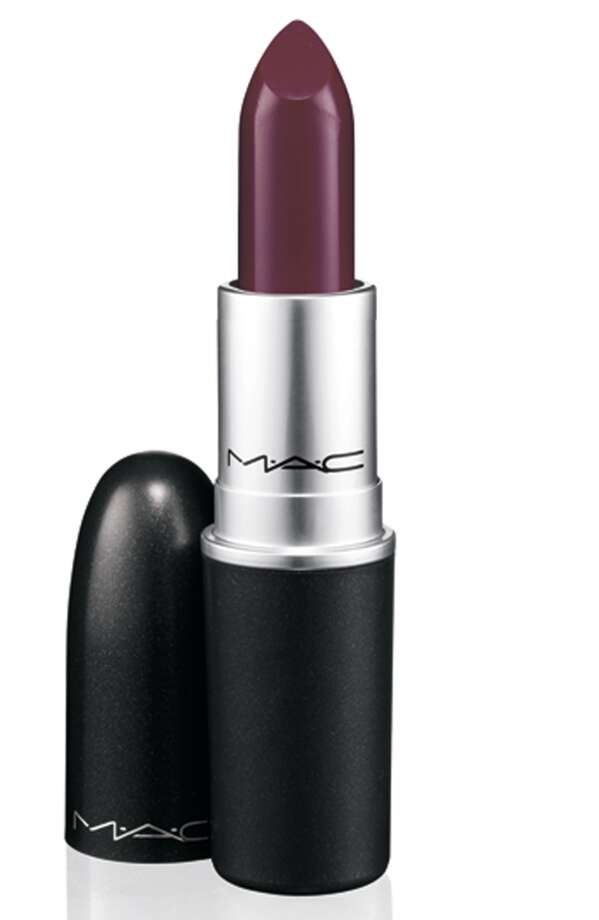 MAC Pro Sin Lipstick was one of two shades used. Photo: MAC