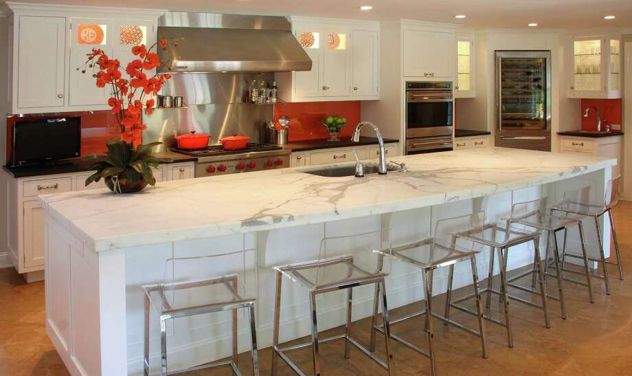 "True North Cabinets, LLC, of New Canaan, recently was featured in the article ""Countertops 101"" in Realtor Magazaine for a kitchen design in Darien. Photo: Contributed Photo, Contributed / Darien News"