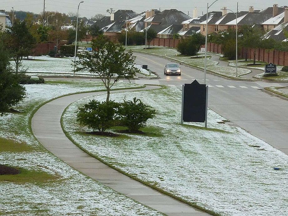 Pictured is a Houston neighborhood after the December 2009 snow. Photo: Flickr Creative Commons/srizki
