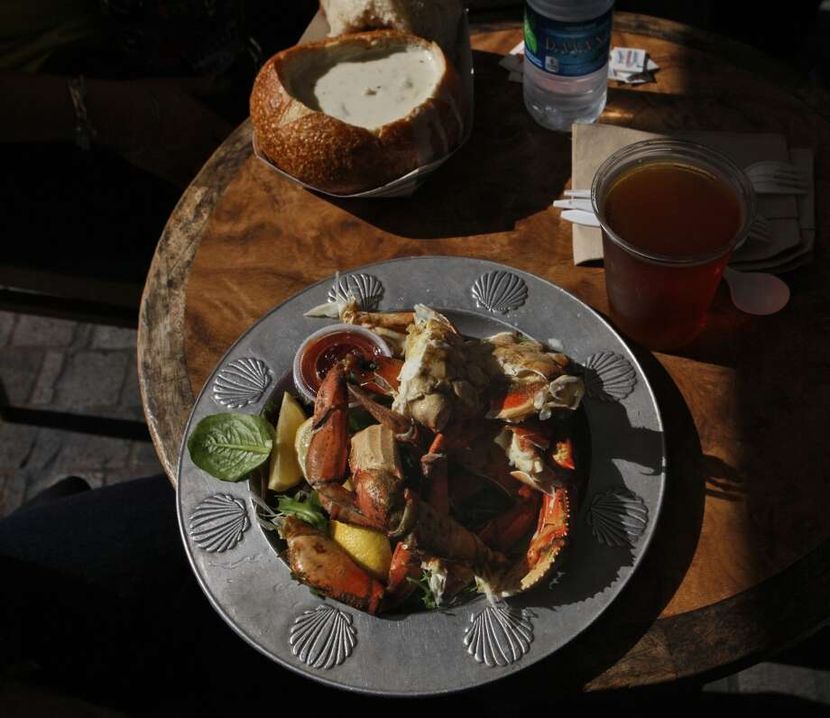 A plate of fresh crab is seen at Tarantino's in San Francisco. Photo: Raphael Kluzniok, The Chronicle