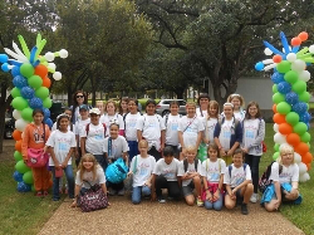 Students from Bens Branch Elementary School attended he Sally Ride Science Festival Oct. 12.