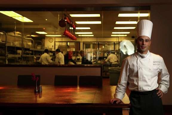Chef Maurizio Ferrarese at Quattro at Four Seasons,Thursday, Oct. 31, 2013, in Houston. ( Karen Warren / Houston Chronicle )