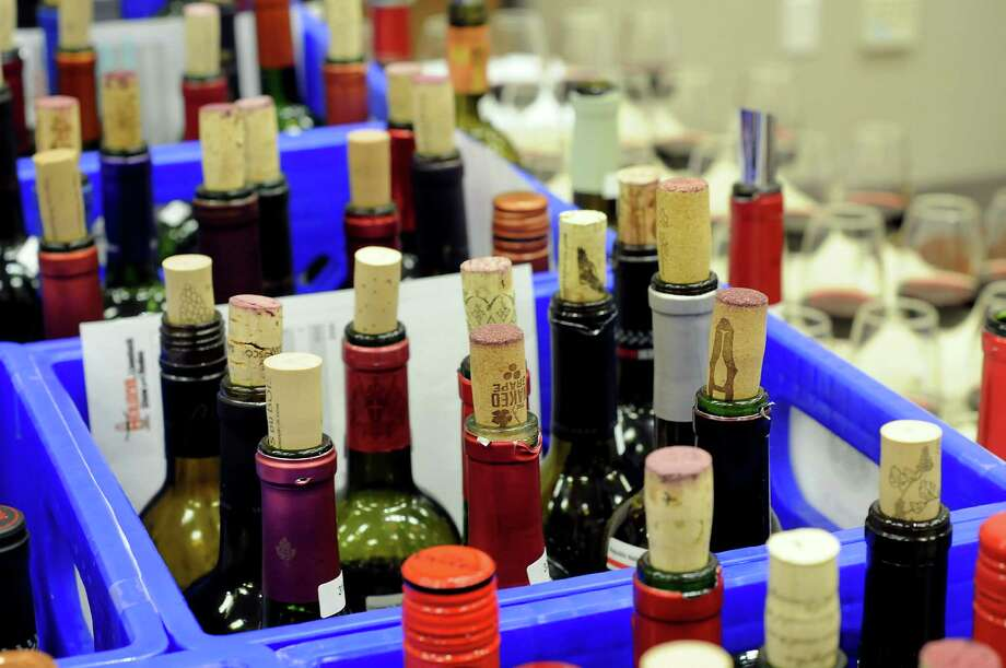 More than 2,500 wines were judged at the Houston Livestock Show and Rodeo's wine competition. The top ones will be featured at Rodeo Uncorked! Best Bites. Photo: Dave Rossman, Freelance / © 2013 Dave Rossman