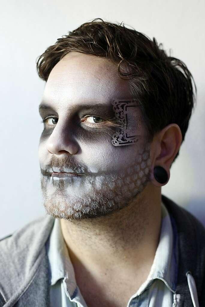 Makeup beard