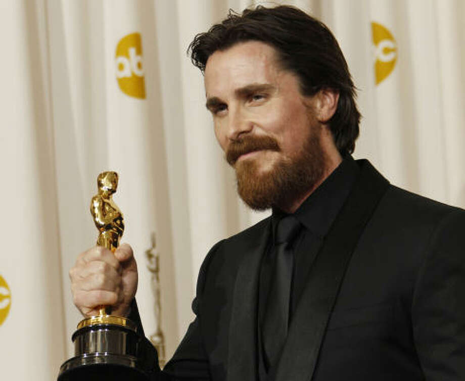 "Christian Bale""I was a victim of bullying and had other kids kicking and punching me every day. It was an early lesson in how making a film can set you apart. If you don't want to live with the consequences then don't make the film."" Bale told Contact Music. Photo: Matt Sayles, AP"