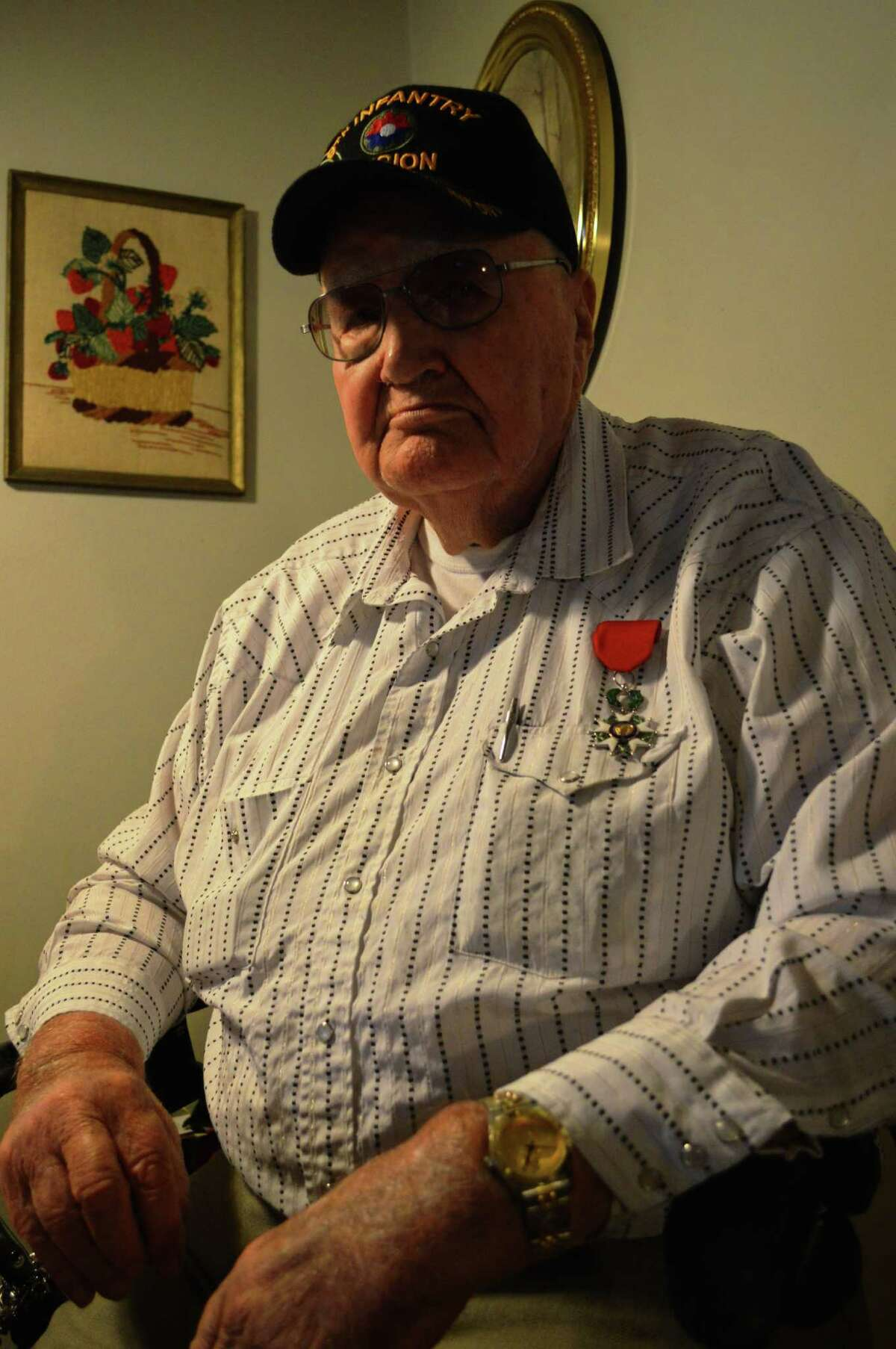 Arnold Watson fought in World War II and was part of Operation Overlord.Arnold Watson fought in World War II and was part of Operation Overlord.