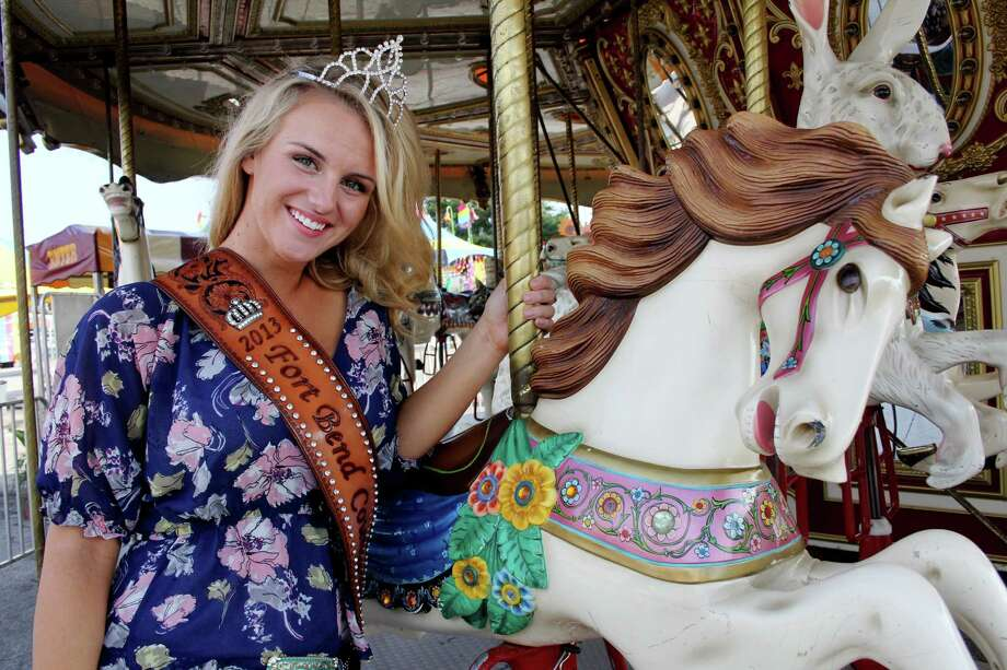Sami Warriner, 16, a junior at Foster High School in Richmond was crowned the 2013 Fort Bend County Fair Queen at a Friday coronation. Photo: Suzanne Rehak, Freelance Photographer