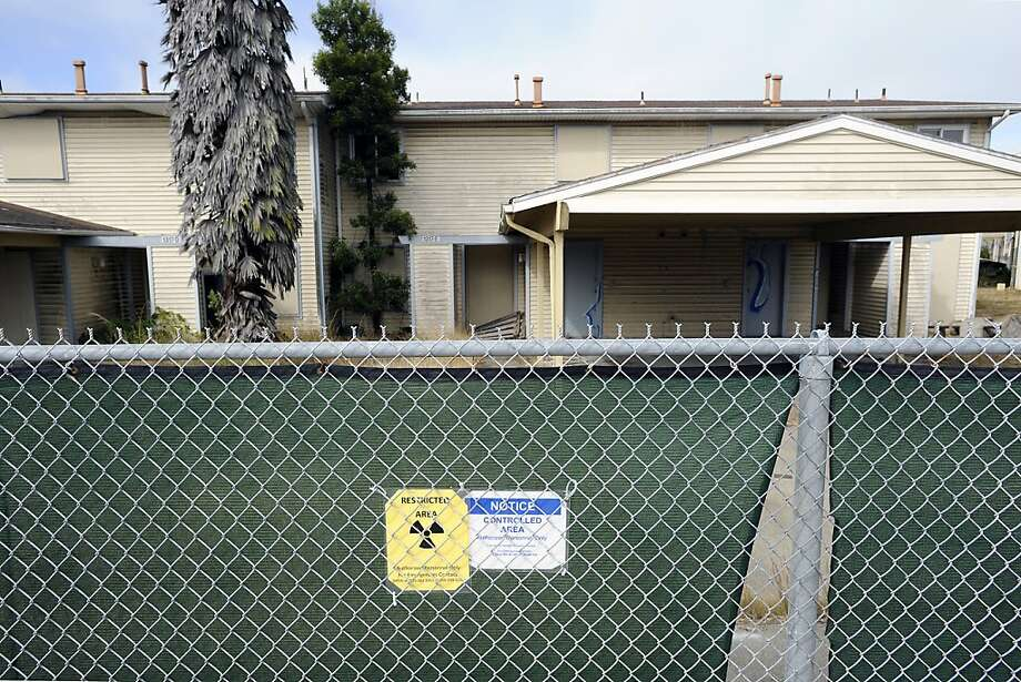 Some residential areas on Treasure Island were built on sites where sailors once handled radioactive material. They must be tested. Photo: Michael Short, The Bay Citizen