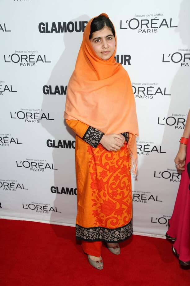 Malala Yousafzai attends the Glamour Magazine 23rd annual Women Of The Year gala on November 11, 2013 in New York, United States. Photo: Rob Kim, Getty Images