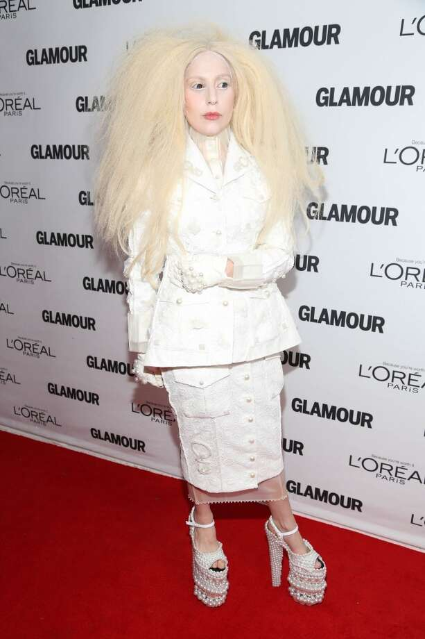 Lady Gaga attends the Glamour Magazine 23rd annual Women Of The Year gala on November 11, 2013 in New York, United States. Photo: Rob Kim, Getty Images
