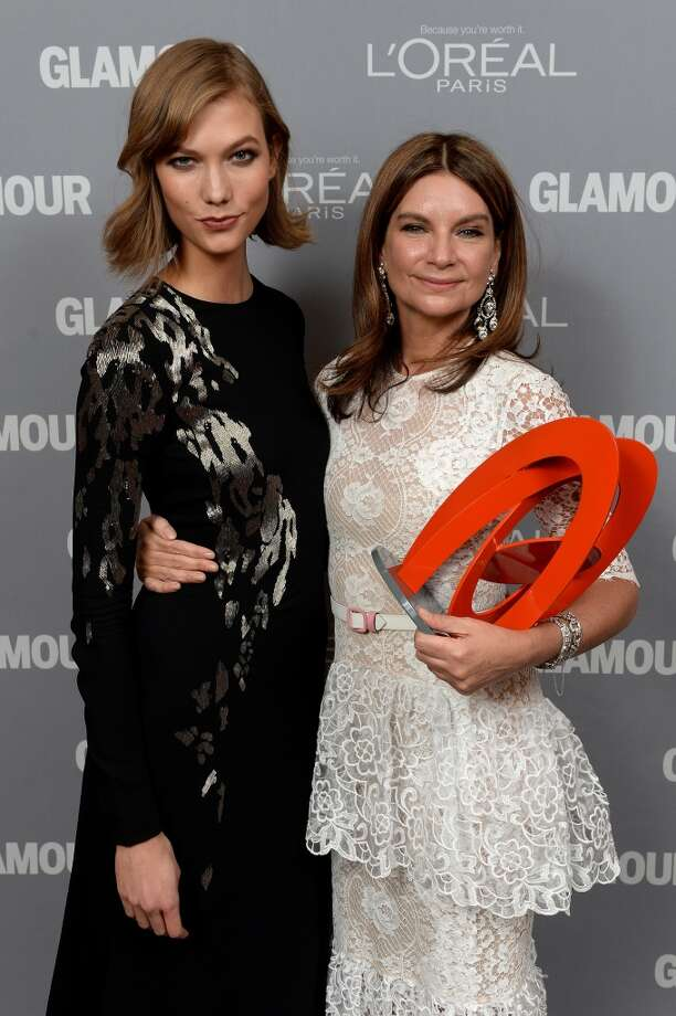 Karlie Kloss and Natalie Massenet attend Glamour's 23rd annual Women of the Year awards on November 11, 2013 in New York City.  (Photo by Dimitrios Kambouris/Getty Images for Glamour) Photo: Dimitrios Kambouris, Getty Images For Glamour