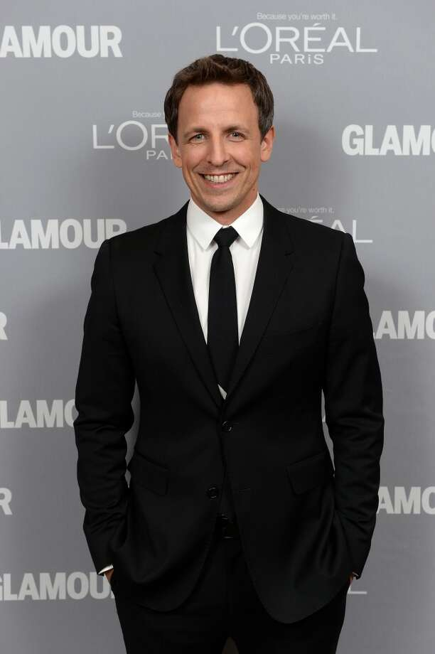 Actor Seth Meyers attends Glamour's 23rd annual Women of the Year awards on November 11, 2013 in New York City. Photo: Dimitrios Kambouris, Getty Images For Glamour