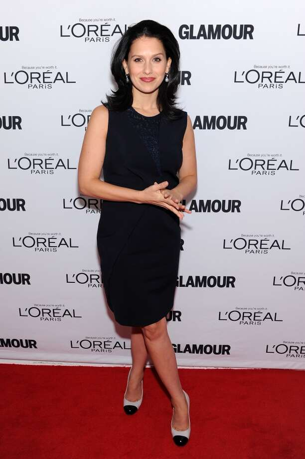 Hilaria Thomas attends Glamour's 23rd annual Women of the Year awards on November 11, 2013 in New York City. Photo: Dimitrios Kambouris, Getty Images For Glamour
