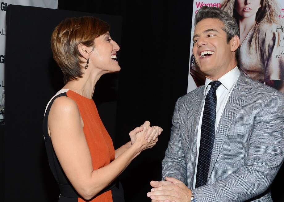 Cynthia Leive and Andy Cohen attend Glamour's 23rd annual Women of the Year awards on November 11, 2013 in New York City. Photo: Larry Busacca, Getty Images For Glamour