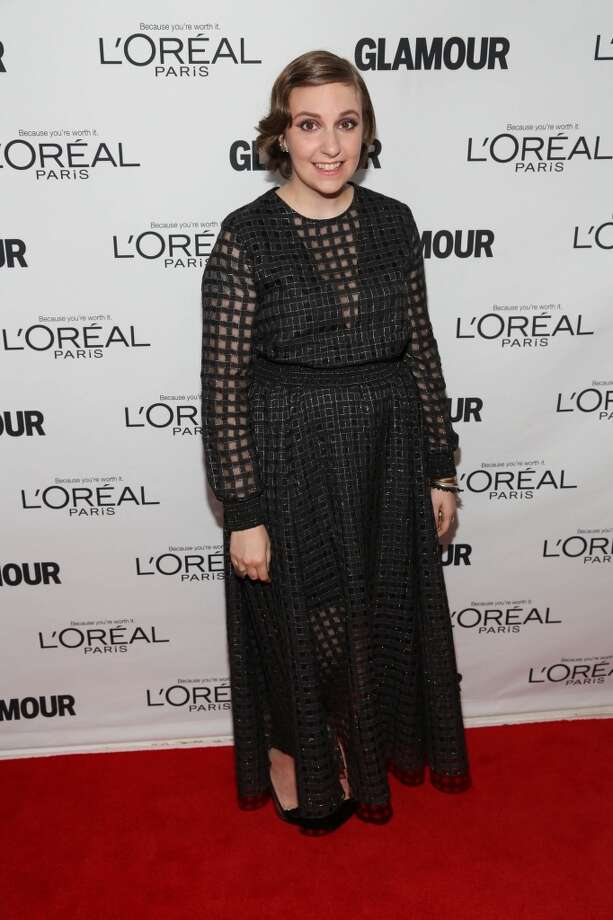 Lena Dunham attends the Glamour Magazine 23rd annual Women Of The Year gala on November 11, 2013 in New York, United States. Photo: Rob Kim, Getty Images