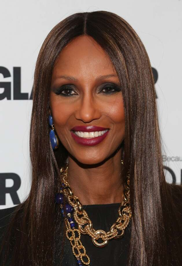 Iman attends the Glamour Magazine 23rd annual Women Of The Year gala on November 11, 2013 in New York, United States. Photo: Rob Kim, Getty Images