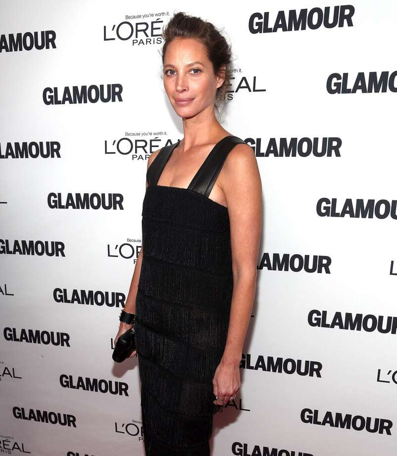 Christy Turlington Burns attends the Glamour Magazine 23rd annual Women Of The Year gala on November 11, 2013 in New York, United States. Photo: Paul Zimmerman, WireImage