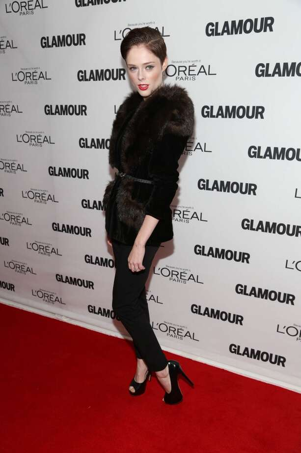 Coco Rocha attends the Glamour Magazine 23rd annual Women Of The Year gala on November 11, 2013 in New York, United States. Photo: Rob Kim, Getty Images