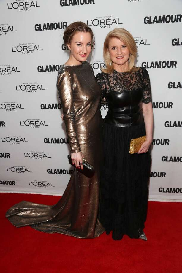 Arianna Huffington (R) and Christina Huffington attend the Glamour Magazine 23rd annual Women Of The Year gala on November 11, 2013 in New York, United States. Photo: Rob Kim, Getty Images