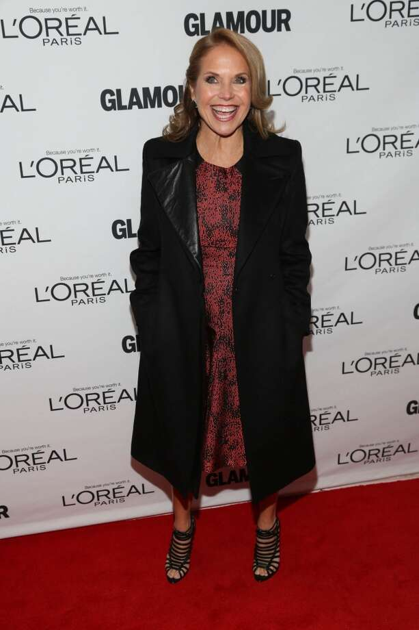 Katie Couric attends the Glamour Magazine 23rd annual Women Of The Year gala on November 11, 2013 in New York, United States. Photo: Rob Kim, Getty Images