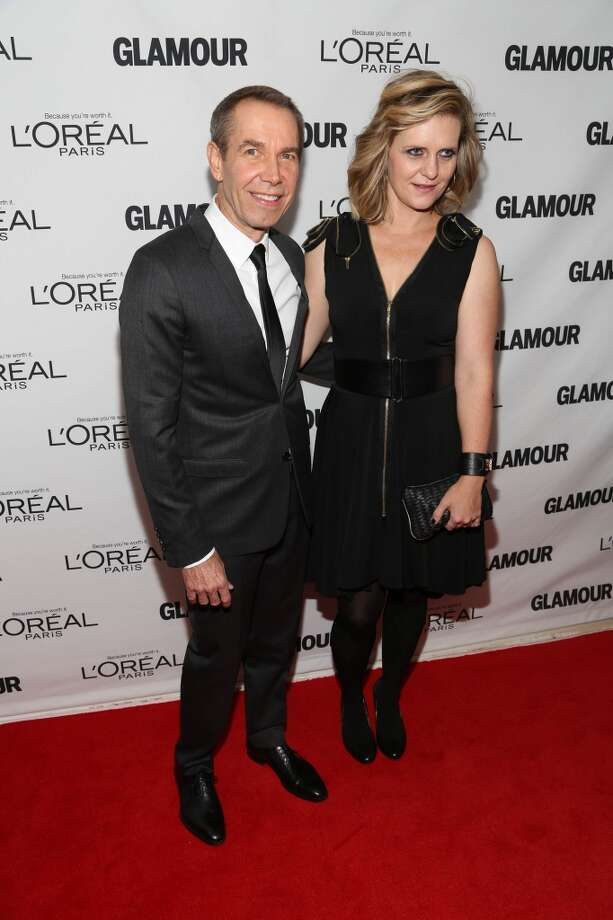Jeff Koons and Justine Wheeler Koons attend the Glamour Magazine 23rd annual Women Of The Year gala on November 11, 2013 in New York, United States. Photo: Rob Kim, Getty Images