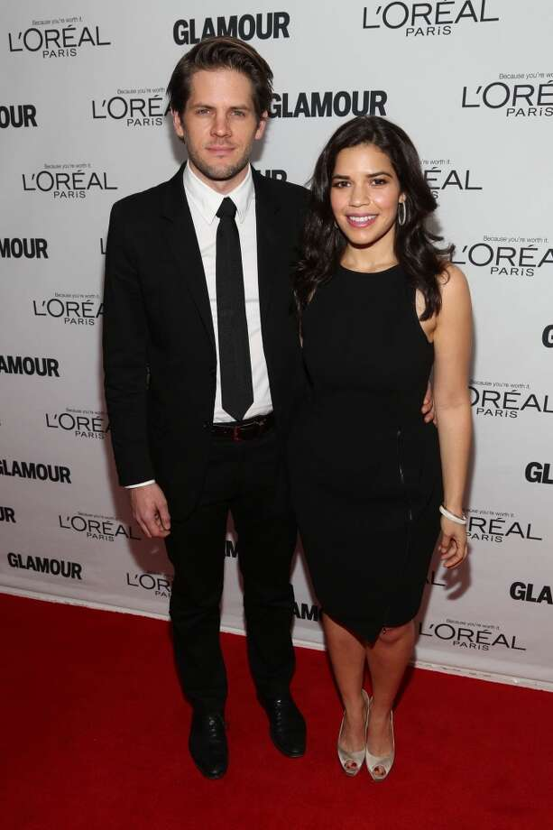 Ryan Piers Williams and America Ferrera attend the Glamour Magazine 23rd annual Women Of The Year gala on November 11, 2013 in New York, United States. Photo: Rob Kim, Getty Images