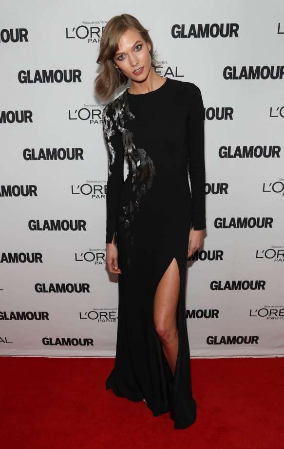 Karlie Kloss attends the Glamour Magazine 23rd annual Women Of The Year gala on November 11, 2013 in New York, United States. Photo: Rob Kim, Getty Images