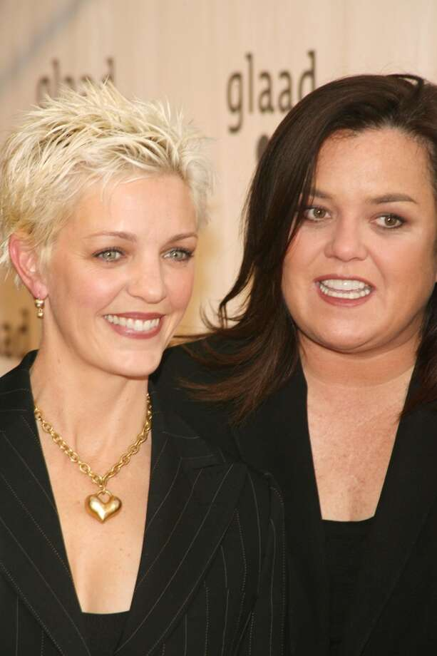Kelli Carpenter and Rosie O'Donnell  (seen here at the 18th Annual GLAAD Media Awards) were married at San Francisco City Hall in 2004 and split in 2007 after more than a decade as a couple. Carpenter and O'Donnell are the mothers of four and have continued to take family vacations together, even including their new partners. Lesbians and gay men have been leading the way in amicable breakups for years. Photo: Sylvain Gaboury, FilmMagic