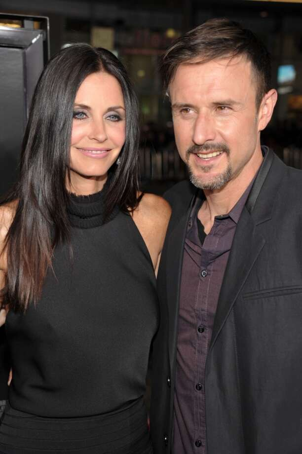 "Actors Courtney Cox and David Arquette  (seen at the premier of ""Scre4m"" in April 2011) famously met on the set of ""Scream"" in 1995 and were married in 1999. During their time together they were one of Hollywood's oddest couples. She was everyone's sitcom ""Friend"" he was... a little quirky. The pair split in 2010 and Cox has remained supportive of her ex through several bouts of addiction, rehab and a couple of extremely revealing phone calls to Howard Stern. Photo: John Shearer, WireImage"