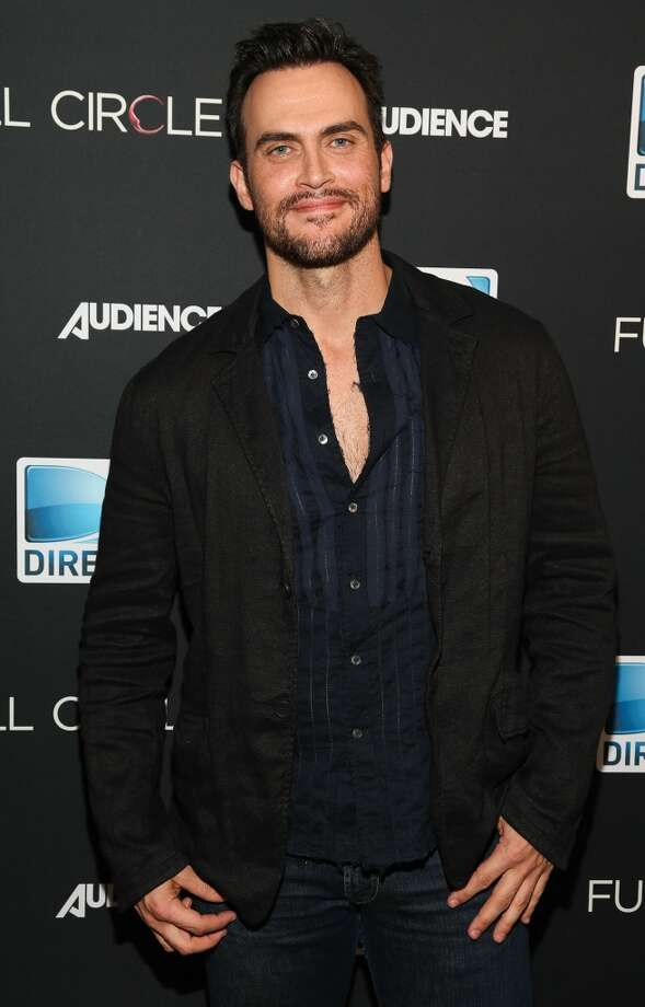 Cheyenne Jackson (seen at  DIRECTV's New Series 'Full Circle' Cast And Crew Dinner at Bagatelle on October 2, 2013 in Los Angeles) split from his husband Monte Lapka in the summer of 2013 after a 13 years as a couple. Two years prior the two wed when same-sex unions became legal in New York State. The pair remain friends. Photo: Imeh Akpanudosen, Getty Images