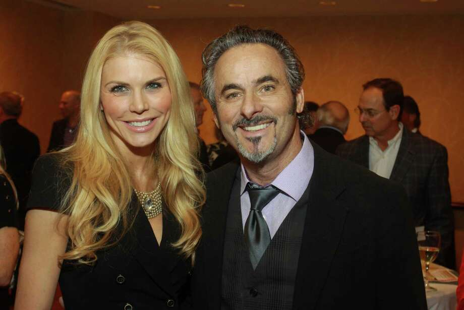 (For the Chronicle/Gary Fountain, February 26, 2013) Lindsey Love and David Feherty. Photo: Gary Fountain, Freelance / Copyright 2013 Gary Fountain.