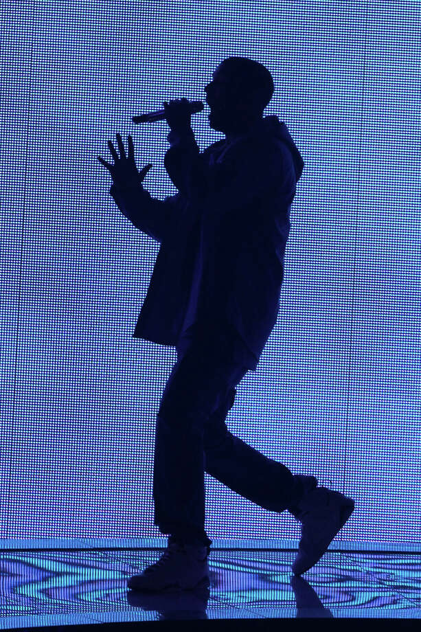 Rapper Drake performs at the Barclays Center, on Monday, Oct. 28, 2013, in New York. Photo: Greg Allen, Associated Press / Invision