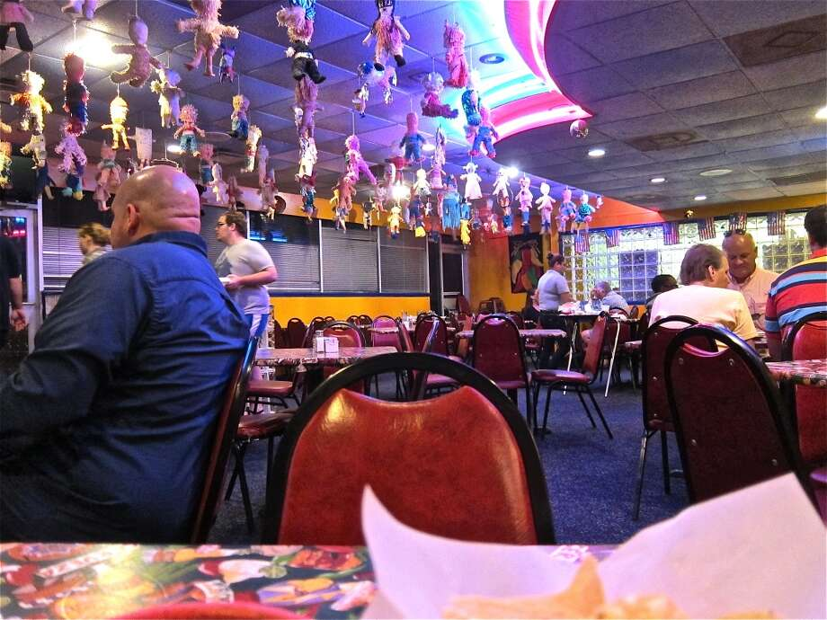 The dining room at Lupita's in Sugar Land. Photo: Alison Cook